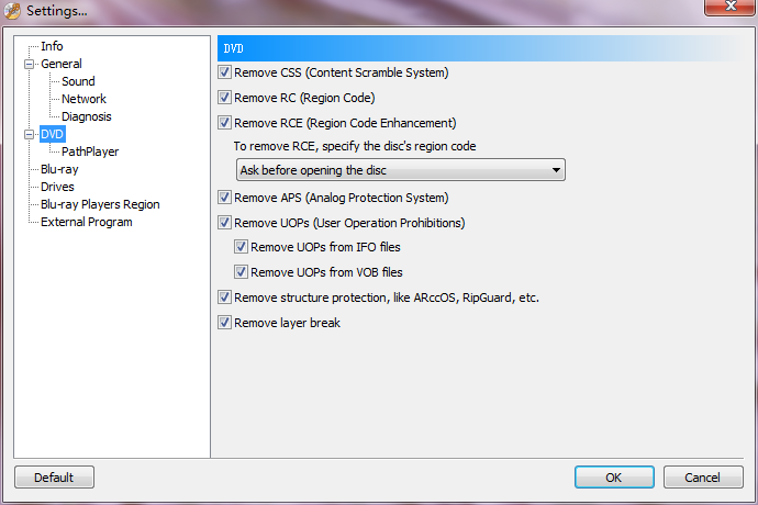 Passkey for DVD can remove all known DVD copy protections on-the-fly. wonderful Screen Shot