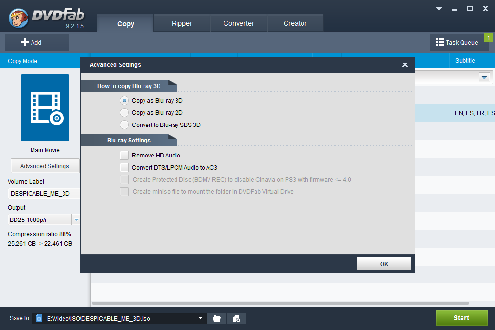 DVDFab Copy Suite Pro Screenshot