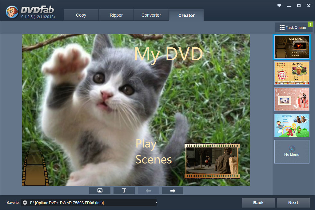 DVDFab DVD Creator Review for Windows