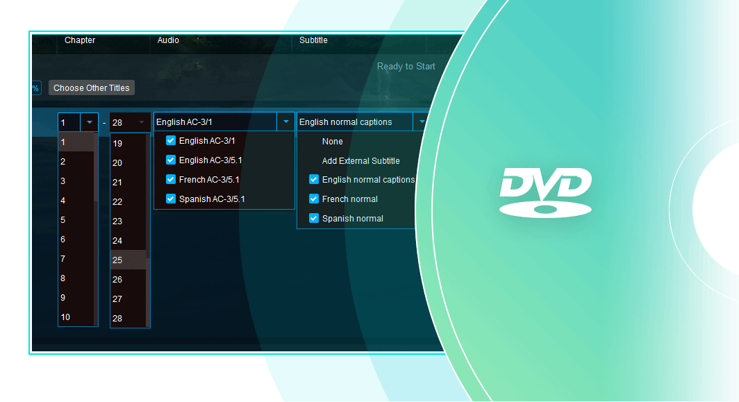 dvdfab blu-ray to dvd converter  for Mac feature 3