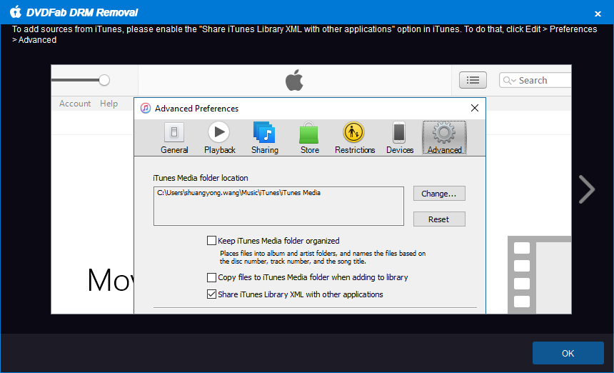 DVDFab apple DRM Removal screenshot 1