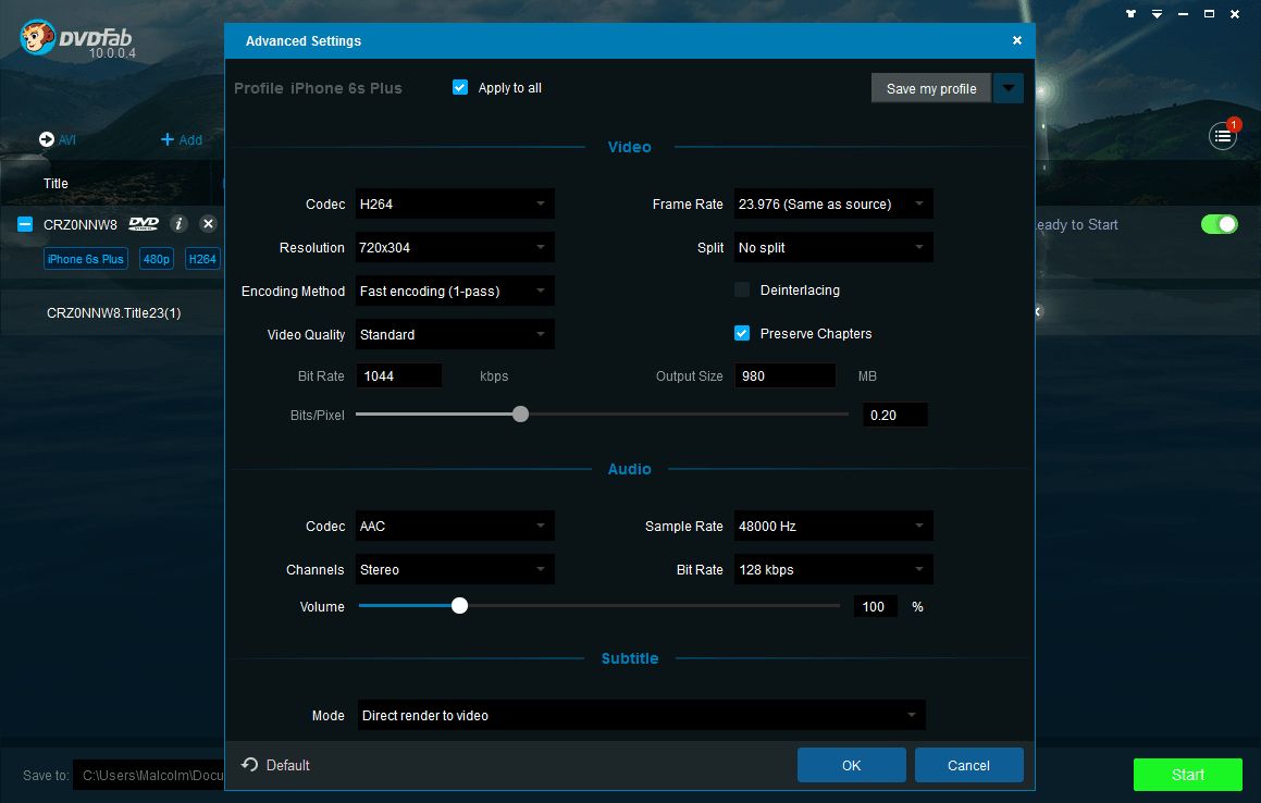 DVDFab Ripper Suite full screenshot