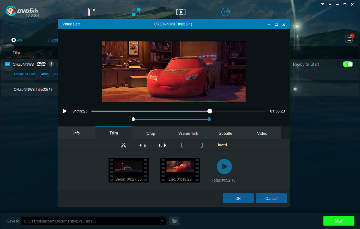 DVDFab Ripper Suite Pro screenshot