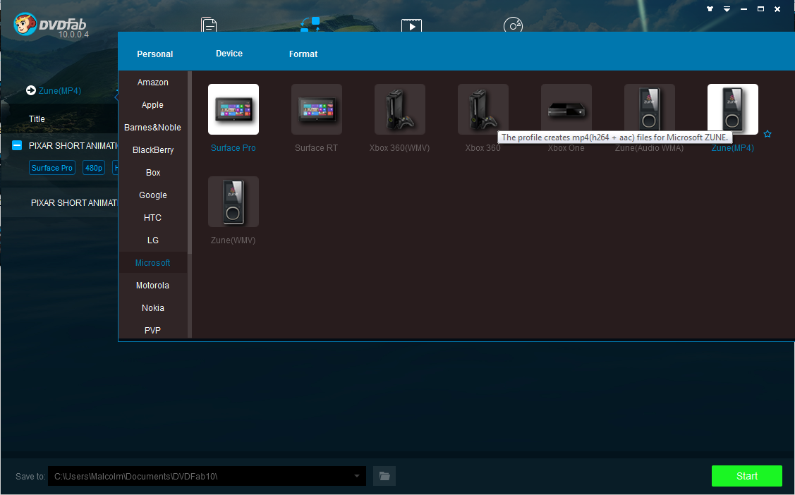 Screenshot of DVDFab File Transfer 10.0.9.2