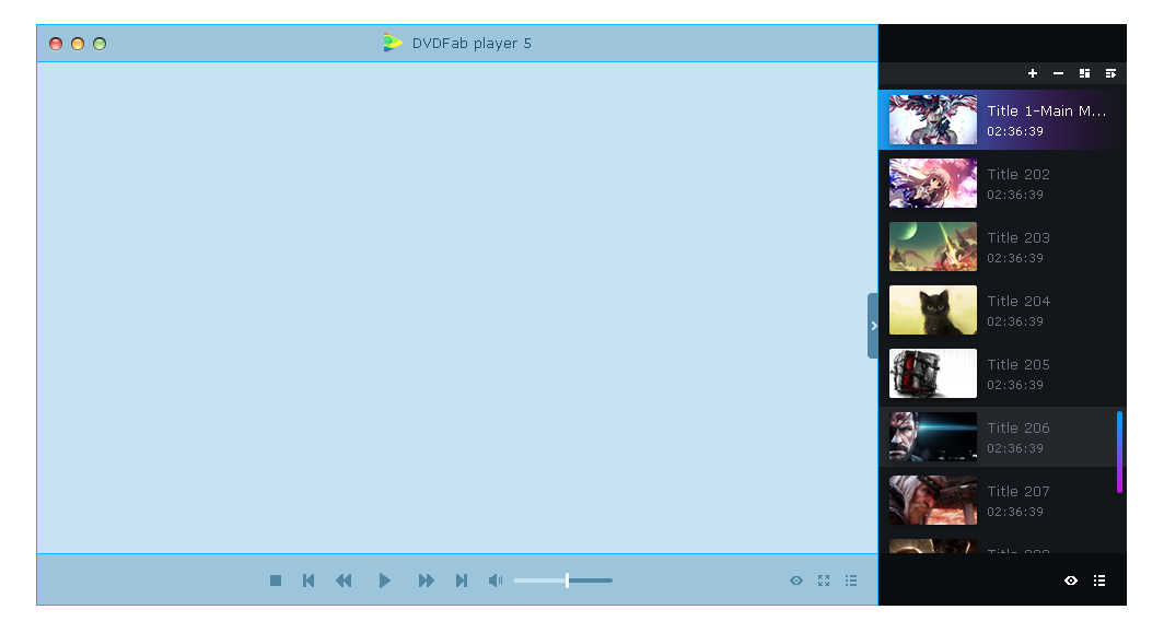 dvdfab media player for Mac feature8