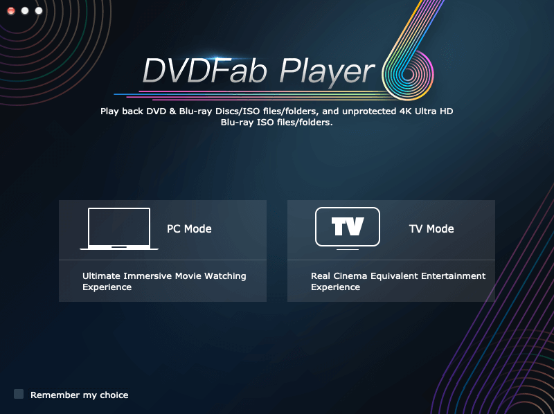 dvdfab media player for Mac guide 1