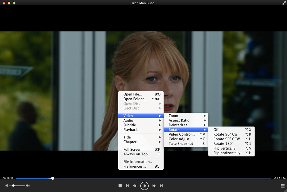 dvdfab media player for Mac screenshot 2