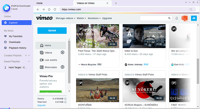 How to download movie videos from vimeo