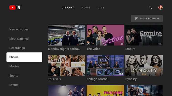 best tv streaming service for sports
