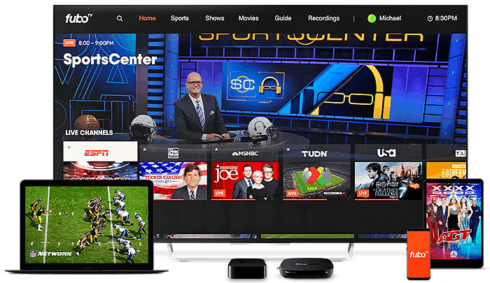 best streaming tv service for sports
