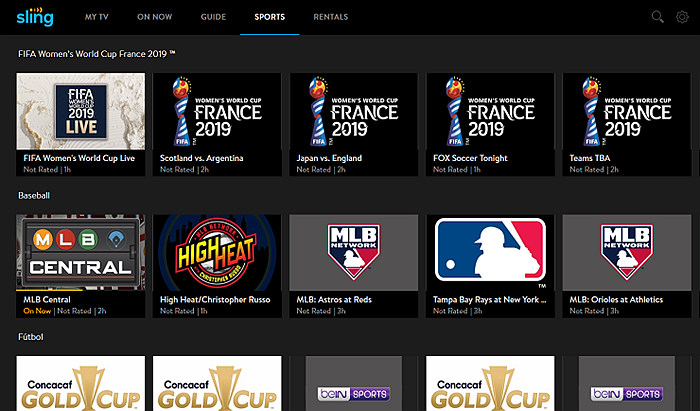 best streaming service for sports