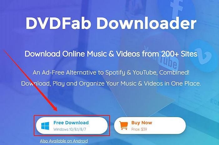 Video Downloader APK - DVDFab Software