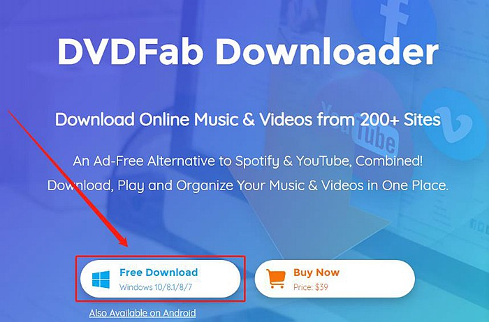 YouTube Video Converter - DVDFab Software