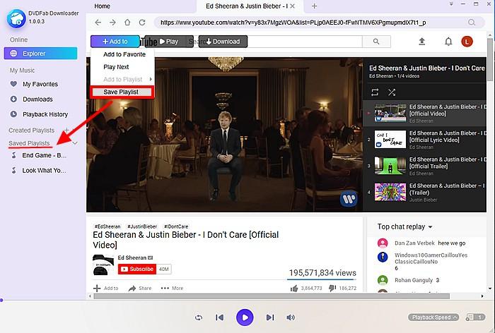 Free Video Downloader - DVDFab Software