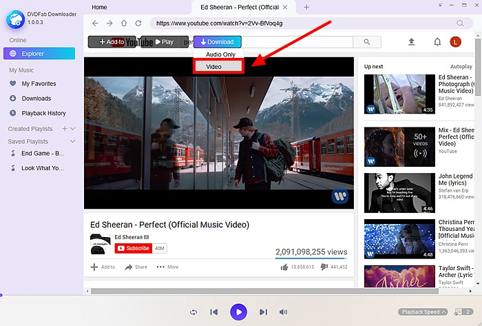 how to download video using link