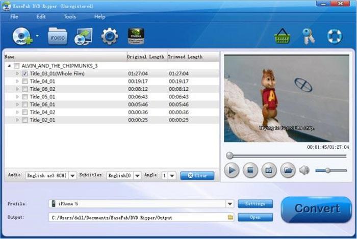 easefab dvd ripper registration code