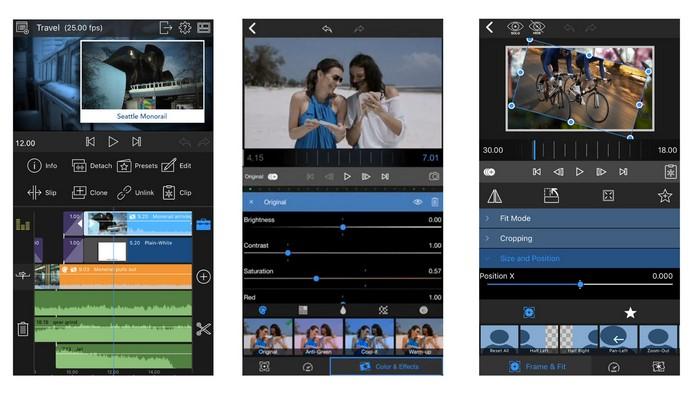 ios ipad video editing apps