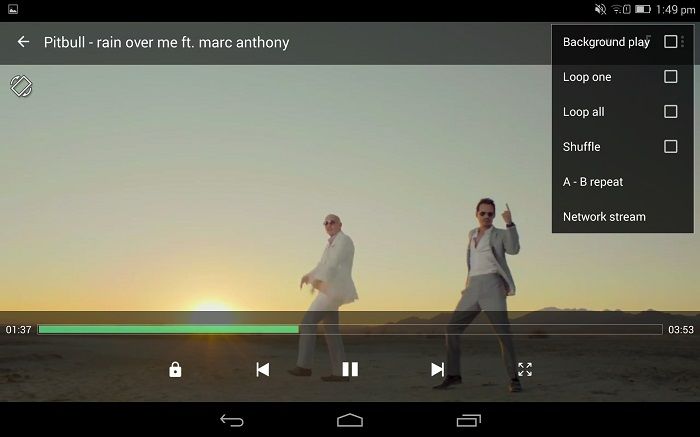 avi video player for android