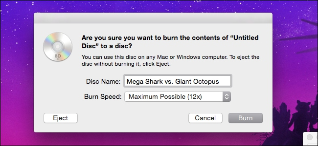 burn an iso file to a blu-ray on mac with finder