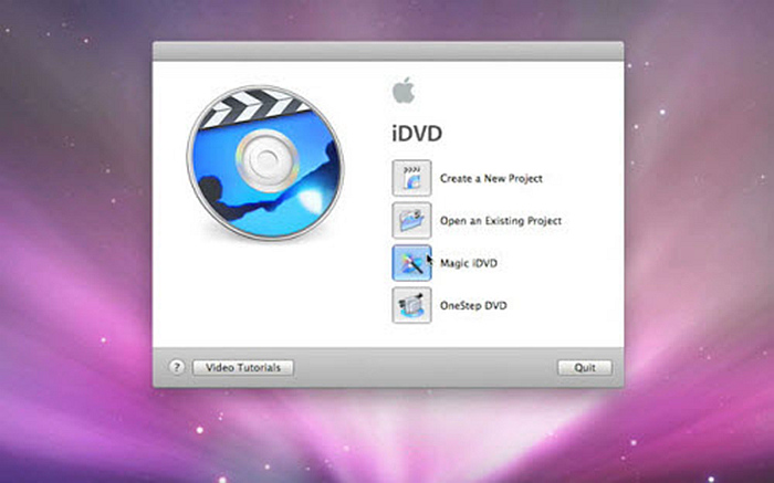 Burn Video DVD Mac with iDVD for Free