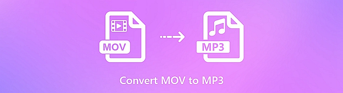 Why convert .mov to .mp3