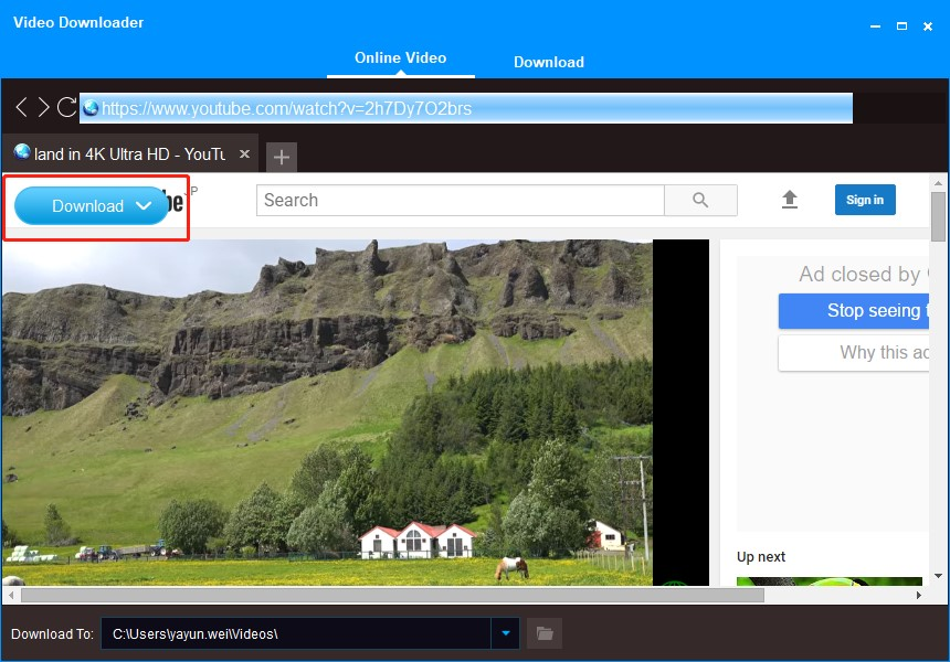 1-click youtube video downloader free download