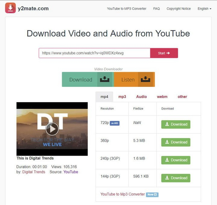can you download music from youtube to your mp3 player