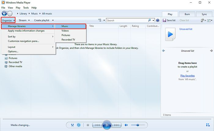Download Music to Windows Media Player