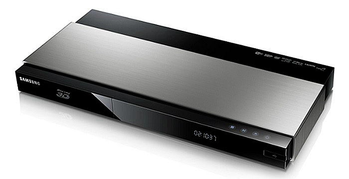 Samsung DVD player with netflix streaming capability