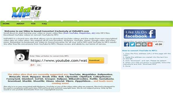 myspace to mp3 converter online