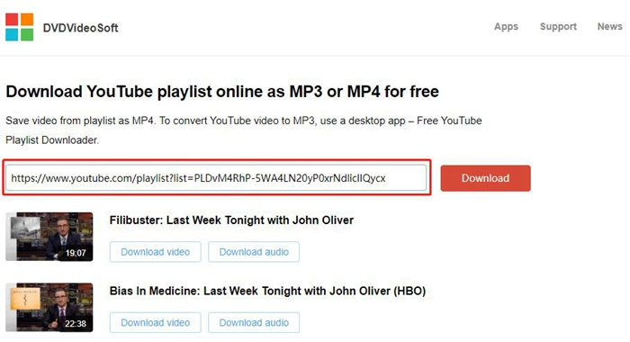 Youtube playlist download mp3