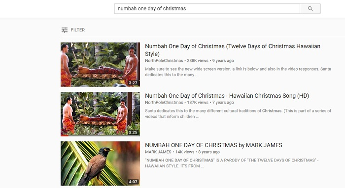 download hawaiian christmas songs from youtube