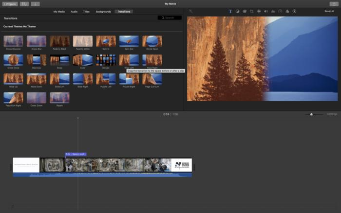 how to edit videos with imovie