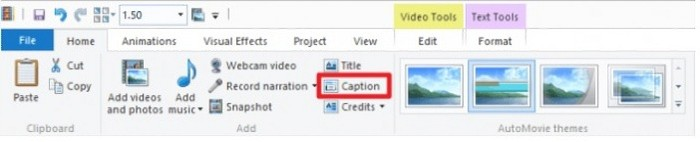 how to edit videos with window movie maker