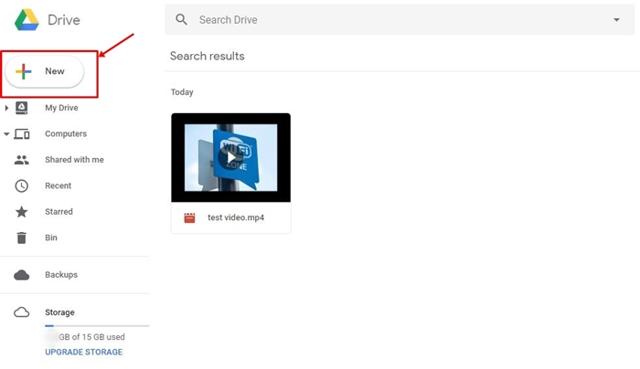 How to Play MP4 in Google Drive?