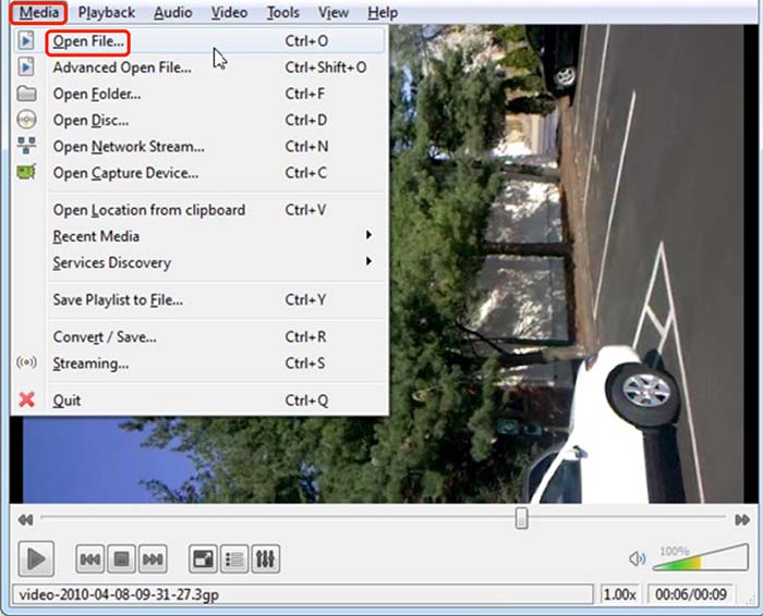How to rotate a video in Windows 10 with VLC