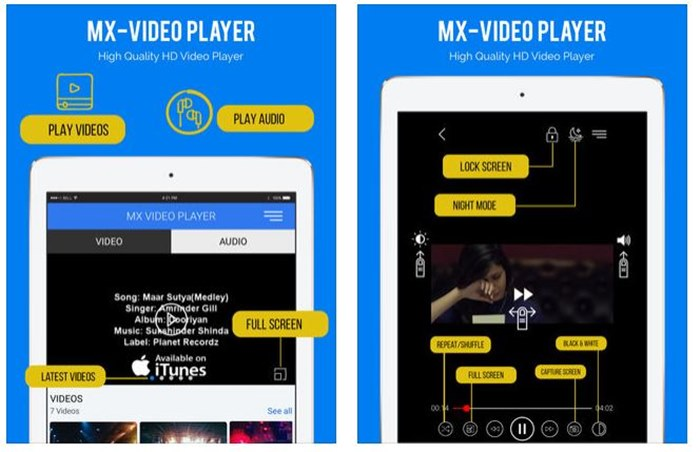 Top 10 Best iPad/iPhone Video Players