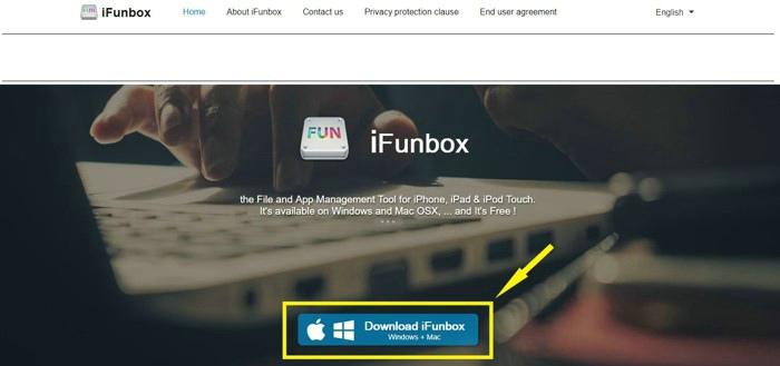 ifunbox 使い方