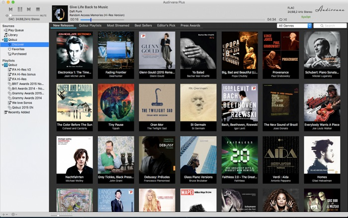 audiophile music player for mac