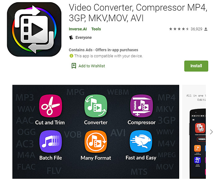 MP4 to MOV converter app