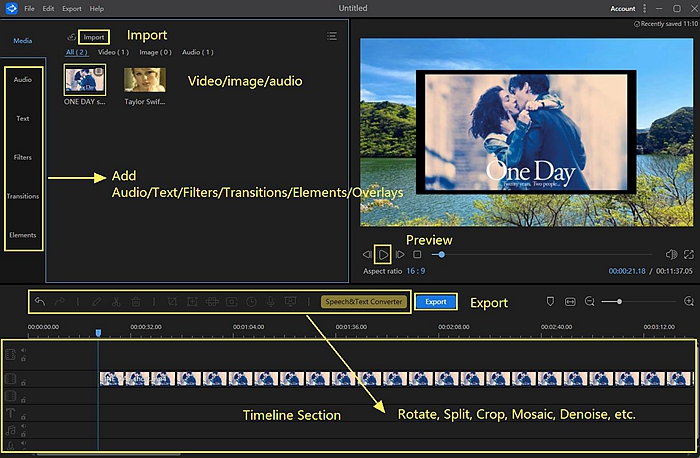 Convert MP4 to WMV Windows with VideoCruise