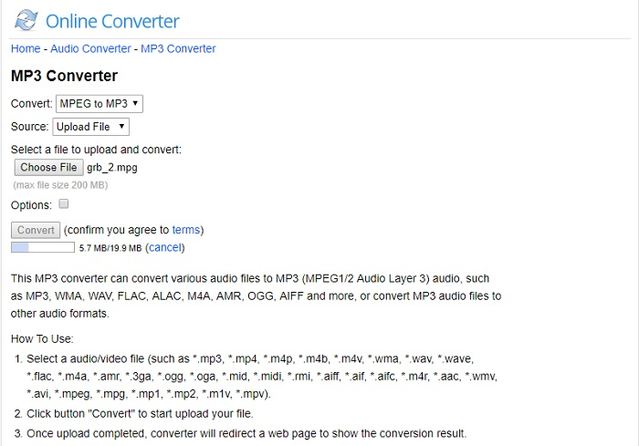 mpeg to mp3 converter