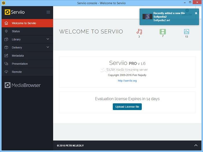 plex media server open source alternative
