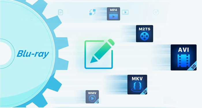 blu ray to mp4,avi,flv,m2ts,mkv,wmv,3d,mp3,aac,flac,m4a etc