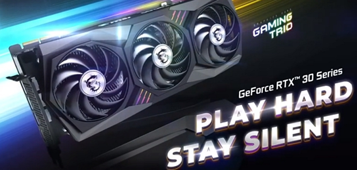 RTX 3080 is newly released