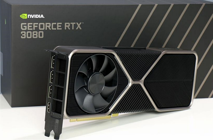 Appearance of RTX 3080