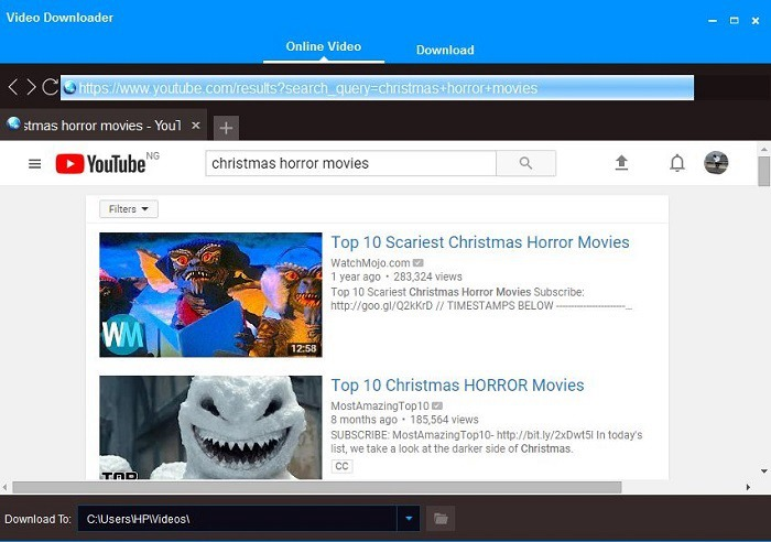 download top youtube christmas movies from youtube