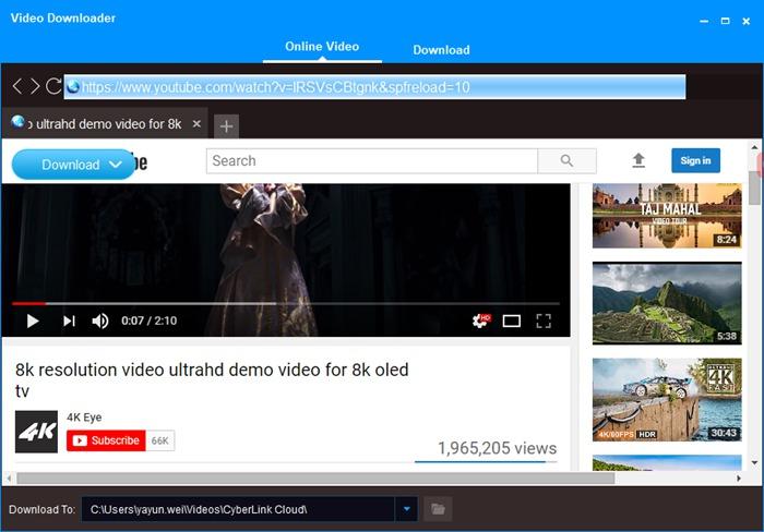 4k demo video download mp4