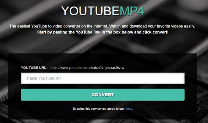 Unlike Other Online Converters Which Include Many Ads The Page Of Yoump4 Is Clean And You Cannot Find Any Ad On It