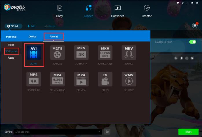 3d video converter freeware